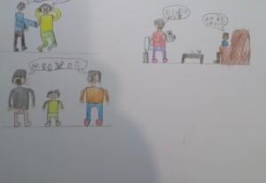 clasa a 5 -a violenta 4